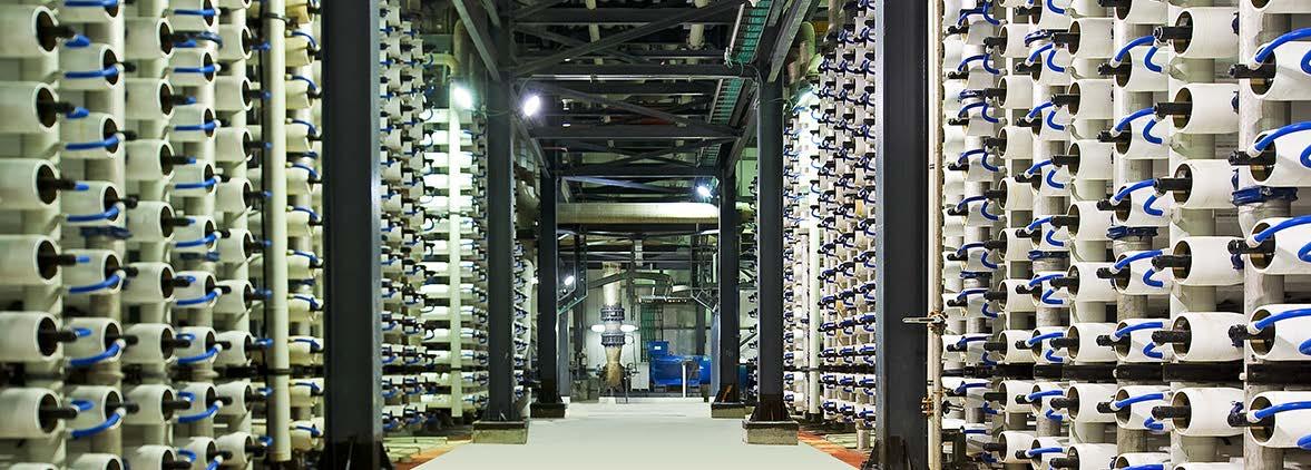 Защита мембран установок обратного осмоса в процессах обессоливания питьевой и сточных вод